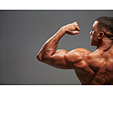 Man, Bicep, Body building, Triceps