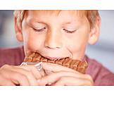 Boy, Sweets, Chocolate
