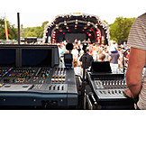 Music, Sound Mixer, Sound Engineer, Outdoors Event