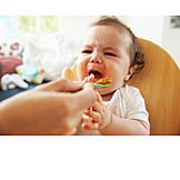 Toddler, Feeding, Deny, Baby Food