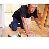 Parkett, Handwerker, Fußboden, Bodenleger