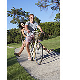 Enjoyment & Relaxation, Love Couple, Cycling
