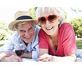 Lebensfreude, Seniorenpaar