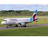 Airplane, Airbus, Airbus A320, Eurowings