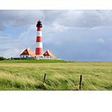 Lighthouse, Westerheversand