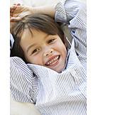 Junge, Glücklich, Sorglos & Entspannt