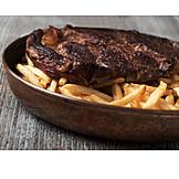 Steak, Meat Dish, Meal