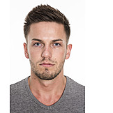 Young Man, Man, Matching Photo