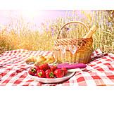 Breakfast, Romantic, Picnic