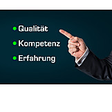 Business, Quality, Competence, Experience