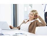 Frau, Geschäftsfrau, Büroangestellte