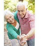 Tanzen, Seniorenpaar