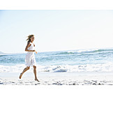 Woman, Freedom & Independence, Beach, Lightweight