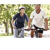 Fun & Happiness, Active Seniors, Cyclists