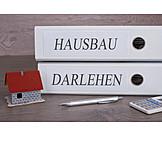 Hausbau, Eigenheim, Baufinanzierung