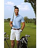 Golfing, Golfer