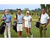 Golf, Team, Golfer