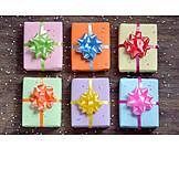 Birthday, Multi colored, Gifts, Birthday present