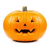 Kürbis, Grimasse, Halloween, Gruselig