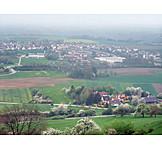 Aerial View, Schwäbisch Hall