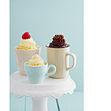 Dessert, Pie, Mug Cake