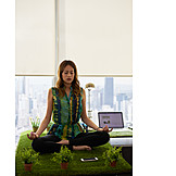 Relaxation & Recreation, Workplace, Meditate, Stress Relief