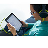 Leisure & Entertainment, Listening Music, Tablet-pc