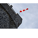 Windsocks, Lindenfels, Bismarck Tower, Litzelröder Höhe
