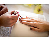 Nail polish, Nail care, Manicure