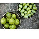 Olives, Harvest time, Lemons