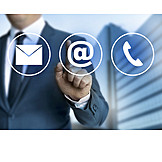 Contact, Email, Website