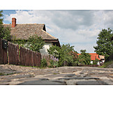 Rural scene, Puszta