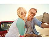 Couple, Fun & Happiness, Leisure, Selfie