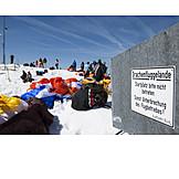 Action & Adventure, Information Sign, Hang Glider