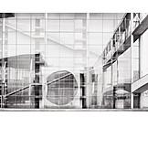 Architecture, Modern Architecture, Government Buildings, Paul Löbe Haus, Marie Elisabeth Lüders Haus
