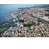 Luftaufnahme, Friedrichshafen