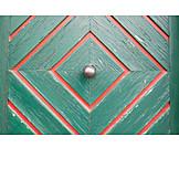Close Up, Wooden Door