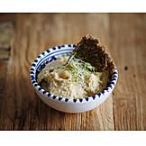 Oriental Cuisine, Vegan, Hummus