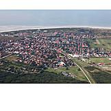 Aerial View, Ostfriesland, Langeoog