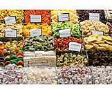 Oriental Cuisine, Candy, Market, Dried Fruit