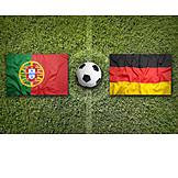 Soccer, Germany, European championship, Portugal