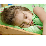 Child, Girl, Sleeping