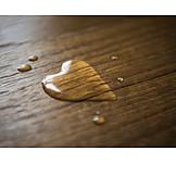 Heart, Waterdrop, Heart Shaped