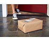 Package, Front door, Parcel service