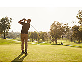 Golf Course, Golfing, Golfer