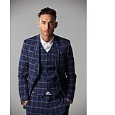 Young Man, Suit, Fashion, Blazer