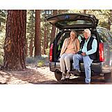 Active Seniors, Hiking, Outdoor