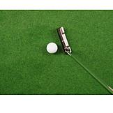 Golf, Golf Ball, Golfing