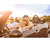 Sunlight, Freedom, Love Couple, Convertible