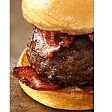 Speck, Hamburger, Amerikanische Küche
